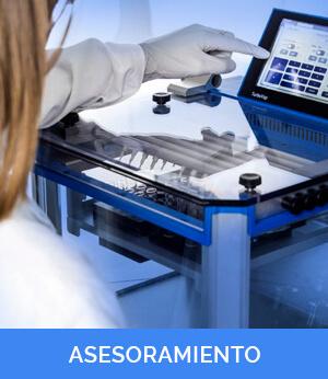 Asesoramiento compra materiales laboratorio