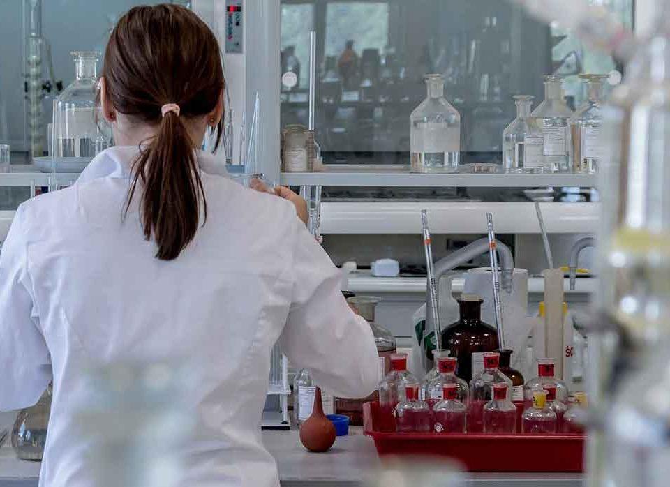 Baño María de laboratorio